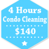 4 Hours Condo Apartment Cleaning