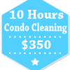 10 Hours Condo Apartment Cleaning