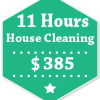 11 Hours House Cleaning