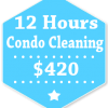 12 Hours Condo Apartment Cleaning