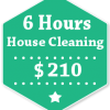 6 Hours House Cleaning