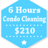 6 Hours Condo Apartment Cleaning