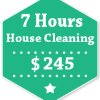 7 Hours House Cleaning