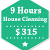 9 Hours House Cleaning