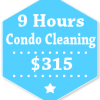 9 Hours Condo Apartment Cleaning