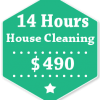 14 Hours House Cleaning