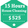 15 Hours House Cleaning
