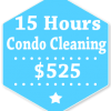 15 Hours Condo Apartment Cleaning